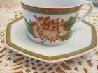 FITZ and FLOYD INC. Chrysantheme Tea Cup & Saucer Japan Vintage Estate Find