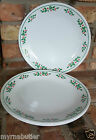 4 Corelle CHRISTMAS HOLLY dinner plate plates Corning FREE SHIPPING
