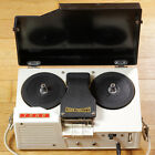 Vintage TOHO High Fidelity 402 Reel-to-Reel Tape Recorder with Microphone