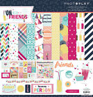 Photo Play FUN WITH FRIENDS 12x12 Scrapbook Paper Collection Kit