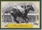 THE GREAT WAR ADMIRAL THOROUGHBRED RACE HORSE STAR COLLECTOR CARD nit
