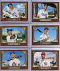 2016 Topps Throwback Thursday 1665 Print Run Harper, Trout, Seager, Story Set 1