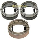 FRONT and REAR BRAKE SHOES Fits SUZUKI LT-Z90 QuadSport Z90 2007 2008 2009