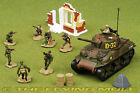 172 M4A1 Sherman US Army w 8 Figures