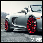 20 ROHANA RFX2 RED FORGED CONCAVE WHEELS RIMS FITS AUDI B8 A4 S4