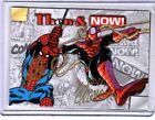 2014 Marvel Now Then & Now Stan Lee and Ryan Stegman auto. card