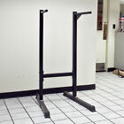 Dip Exercise Station Stand Self Standing Dipping Machine Bicep Tricep Shoulder