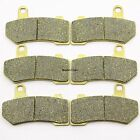 Front Rear Brake Pads For Harley Davidson VRSCAW V-Rod 2008-2011 Brakes FA409