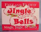 2 pc. Fitz & Floyd MINGLE JINGLE BE MERRY Tidbit Dishes Jingle Bells ~NIB!