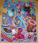 Lisa Frank Candy and Goodies Cherri Sticker 100 Piece Puzzle Good Condition