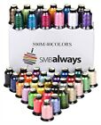 Embroidery Machine Thread Set Sewing Quilting Crafting 40 Spools Color Polyester