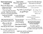 Unmounted Rubber Stamps Sheets Funny Humorous Sayings  Quotes Friends Humor