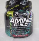 Amino Build Fruit Punch by MuscleTech - BCAA Post-Workout Powder (30 Servings)