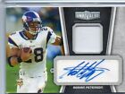 2010 TOPPS UNRIVALED ADRIAN PETERSON AUTO PATCH 16 50!! SICK!!