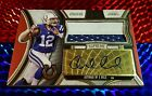 ***1 1*** ANDREW LUCK 2015 TOPPS SUPREME AUTO AUTOGRAPH PATCH LOGO COLTS **1 1**
