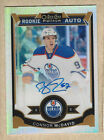 2015-16 opc platinum RC auto #190 connor mcdavid oilers white ice sp 23 199