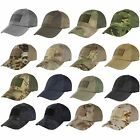 Condor Tactical Cap with Mesh Back Choice of 10 Colors or Camoflage TCM Hat