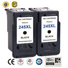 2 PK For Canon PG 245XL Black Ink Cartridge PIXMA MG2450 MG2520 MX490 MX492
