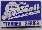 VTG 80S 1985 TOPPS TRADED BASEBALL COMPLETE FACTORY CARD SET 132 ROOKIE RC MLB