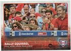 Rally Squirrel 2015 TOPPS UPDATE Phillippe Aumont SP #US318 Phillies