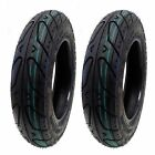 Scooter Tubeless Tire 350 10 Front Rear Motorcycle Moped 10 Rim SET OF TWO