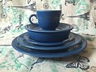 Fiesta Lapis Blue 6 Piece Place Setting Dinnerware Fiestaware Homer Laughlin