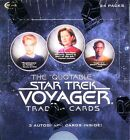 Rittenhouse The Quotable Star Trek VOYAGER Trading Card BOX Auto Autograph Cards