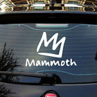 Mammoth Mountain Ski Car sticker Decals Pick Your Size