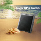 Waterproof Solar GPS/GSM Tracker Mini Locator For Animal Pet Outdoor Activities