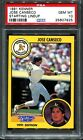 PSA 10 1991 KENNER STARTING LINEUP JOSE CANSECO * POP 3 * OAKLAND A'S