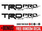 2x 2017 Toyota Tacoma Trd Pro Vinyl Bed Side Decals Stickers