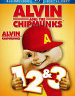 Alvin and the Chipmunks 1, 2 and 3 (Blu-ray /  New Blu