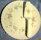 Mikasa Endearment Cake Plate and Server Set