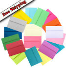 Multi Color Assortment A2 A6 or A7 Envelopes for Announcement Cards Invitations