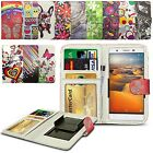 For Sony Xperia Z3v - Clip Printed Series PU Leather Wallet Case