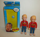 Lot of 2 Screaming Kevin Home Alone Dolls Action Figures - With 1 Box vtg 1991