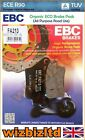 EBC Rear Organic Brake Pads CCM CR 40 Cafe Racer (Handlebar Fairing) 07-08 FA213