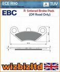 EBC Front Left Sintered R-Series HD Brake Pads Goes 520 Max (Quad) 07-12 FA453R