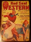 RED SEAL WESTERN pulp fiction magazine SEPTEMBER 1936