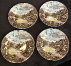 VINTAGE JOHNSON BROS OLDE ENGLISH COUNTRYSIDE SET 4 6.5