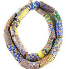 African Fine old Venetian Antique Mixed Millefiori Glass Trade beads