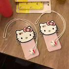 new 3D pink Hello kitty iPhone 6 6Plus phone case cover cute figure cat strape