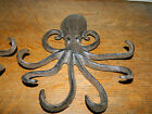 Set/2 Heavy Octopus Cast Iron 7