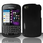 For Blackberry Q10 ATT Sprint T Mobile Verizon TPU Case Cover Black