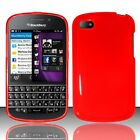 For Blackberry Q10 ATT Sprint T Mobile Verizon TPU Case Cover Red
