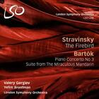 STRAVINSKY: THE FIREBIRD; BART¢K: PIANO CONCERTO NO. 3; SUITE FROM THE MIRACULOU