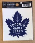 Toronto Maple Leafs 3 x 4 Small Static Cling Truck Car Window Decal NEW NHL