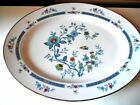 Noritake Shangri-La Dinnerware Japan Platter Multi Color Flowers/Birds 13.5