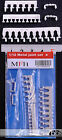 HIRO MFH 1/12 METAL JOINT SET B A/N FITTINGS 180° & 90° fo TAMIYA DOYUSHA PROTAR