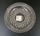 NEW VTG Ashtray Wexford Pattern Heavy Cut Glass Anchor Hocking Large candy dish